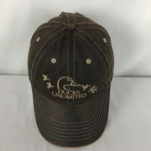 Ducks Unlimited oiled cap hat  strapback